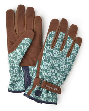 Love The Glove - Deco Green and White Gardening Gloves