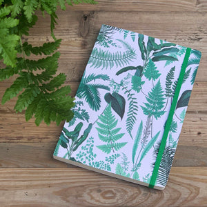 Fern Print Notebook