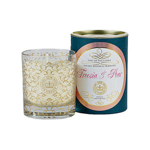 Kew Scented Candle, Freesia & Pear