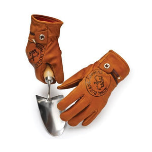 Kew Gardening Gloves in Tan Leather