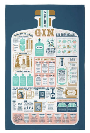 Gin & Tonic Tea Towel