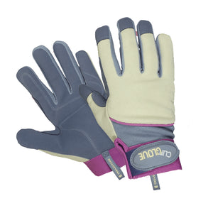 General Purpose gardening gloves with pink trim