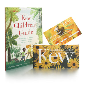 Children's gift ticket and guide book.