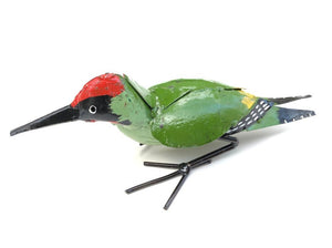 Woodpecker Metal Garden Ornament