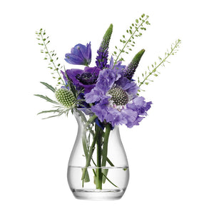 Small glass posy vase