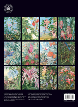 Marianne North Gift Wrap Set of 12 Sheets