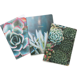 Succulent Garden Notebook Set