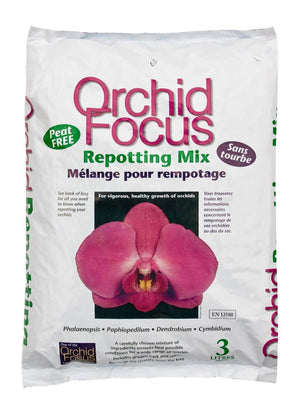 Orchid Focus Repotting Mix 3L Bag