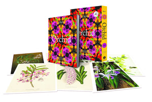 The Orchid book in presentation box