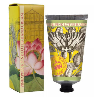 Kew Pineapple and Pink Lotus Hand Cream