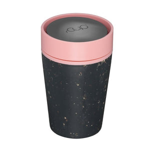 Recycled Reusable Coffee Cup - Pink - Small