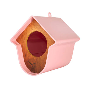 Contemporary Bird Feeder in Pink