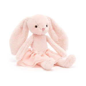 Pink bunny in tutu soft toy