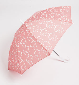 Kids Colour Changing Umbrella - Pink