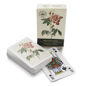 Kew Roses Playing Cards