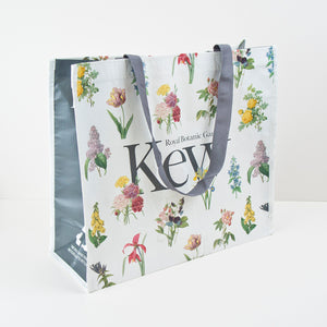 Recycled Plastic Floral Shopping Bag