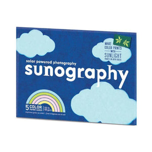 Sunography Solar Powered Photo Kit, Colour Paper
