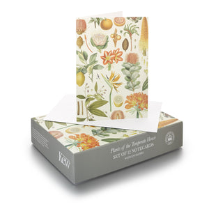 Set of 12 Temperate Botanical Notecards