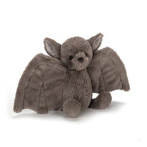 Fluffy bat soft toy