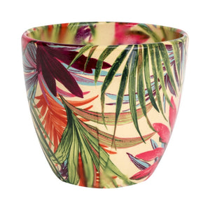 Tropical Fuschia Plant Pot