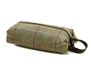 Tweed Print Wash Bag