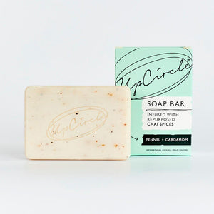 Bar of UpCycle Fennel and Cardamom Soap
