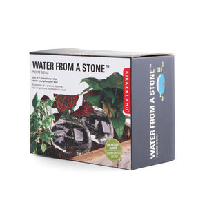 Water From A Stone Self Watering System