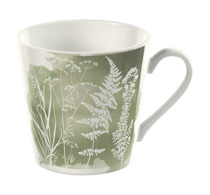 Kew Watercolour Meadow Mug - Sage Green