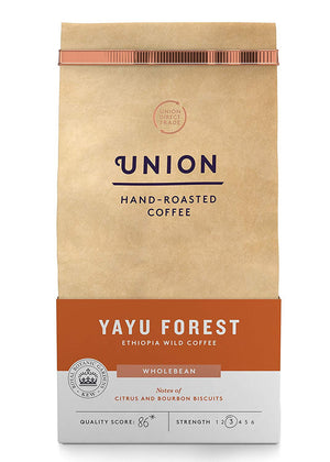 Union Yayu Wild Forest Wholebean Coffee