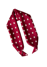 Red Chic Silky Headscarf