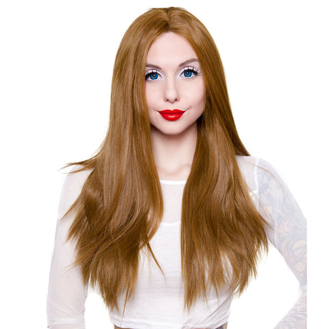 "Lace Front - 26"" Yaki Straight"