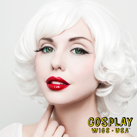Cosplay Wigs USA™ Bobs - Curly