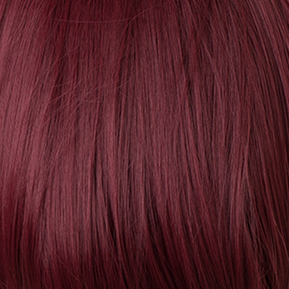 Burgundy Red Wine Wigs
