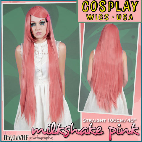 Cosplay Wigs USA™ Extra Long Straight 100cm/40""