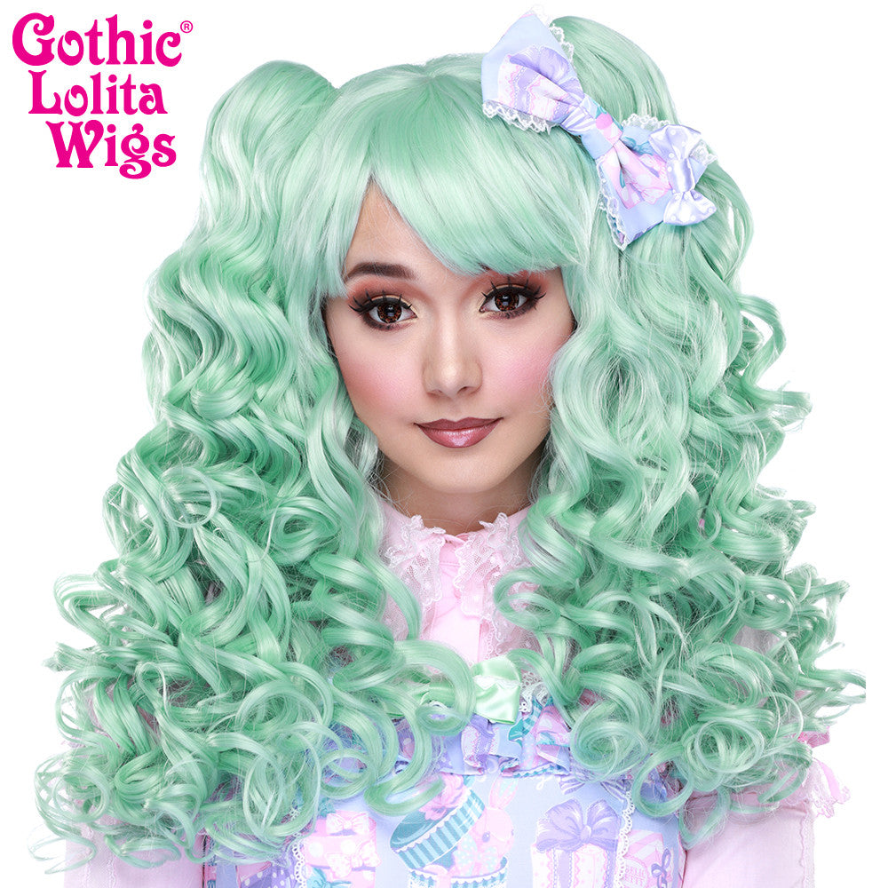 Gothic Lolita Wigs® <br> Baby Dollight™ Collection - Mint Mix -00011