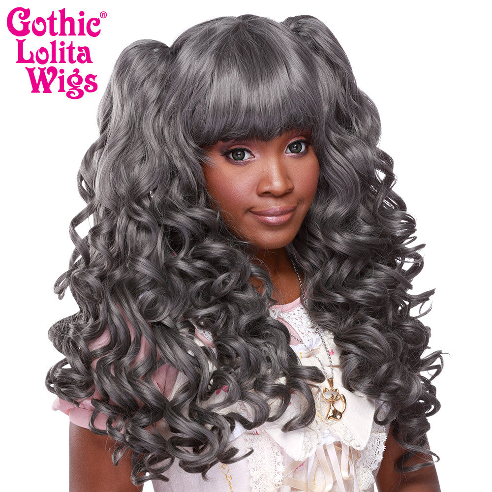 Gothic Lolita Wigs® <br> Baby Dollight™ Collection - Dark Grey Mix - 00012