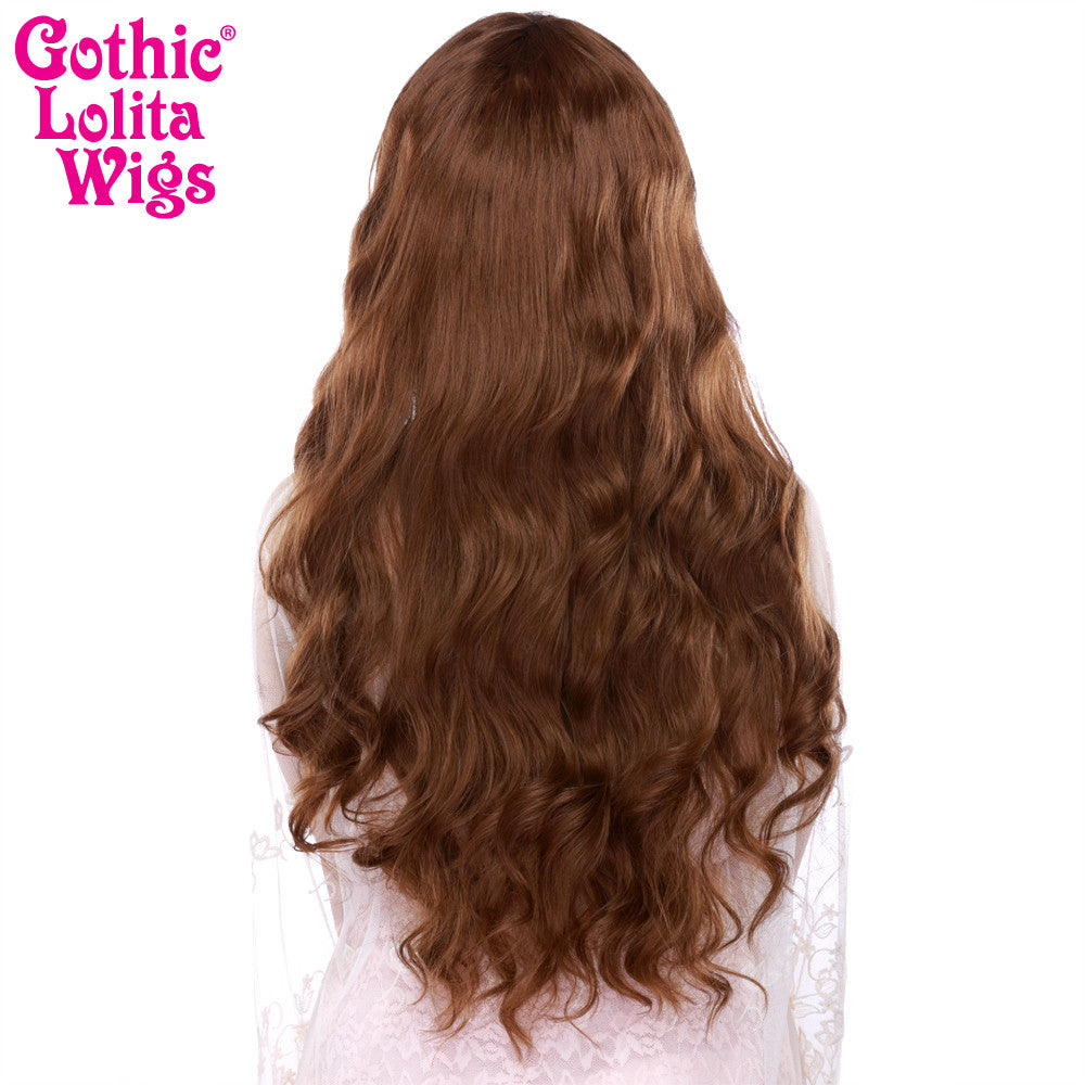 Gothic Lolita Wigs® <br> Classic Wavy Lolita™ Collection - Dark Brown Mix -00039