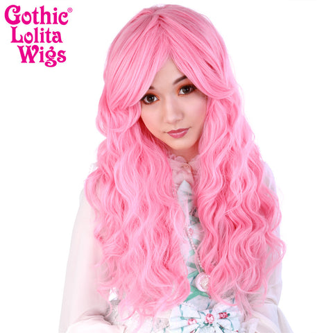 Gothic Lolita Wigs® <br> Classic Wavy Lolita™ Collection - Deep Pink -00040