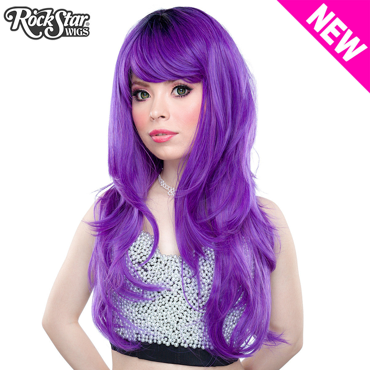 Rockstar Wigs Store Uptown Girl Collection Central Pink