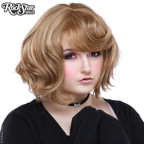 Gothic Lolita Wigs® Gamine Collection - Honey Milk Tea Mix -00404