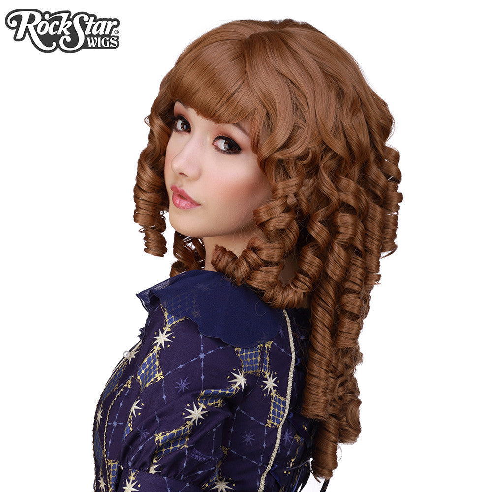 Gothic Lolita Wigs® <br> Ringlet Redux™ Collection - Caramel Brown Mix - 00502