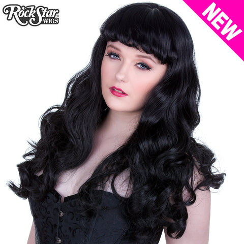 RockStar Wigs® <br> Madonna™ Collection - Black -00531