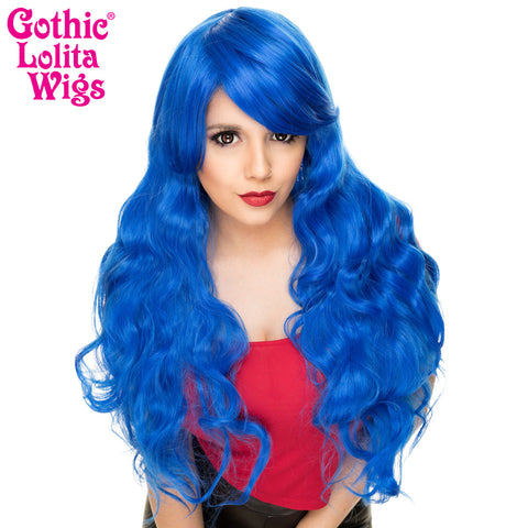 Gothic Lolita Wigs® <br> Classic Wavy Lolita™ Collection - Blue -00557
