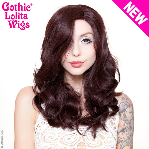 Lace Front Glamour Gal - Black Mahogany Burgundy -00599