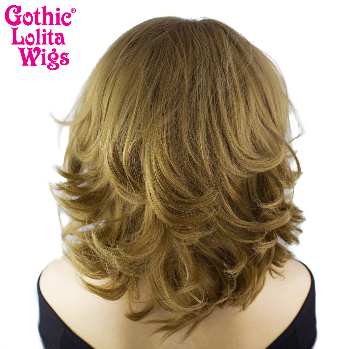 "Lace Front 14"" Shag - Coffee Latte Mix - 00795"