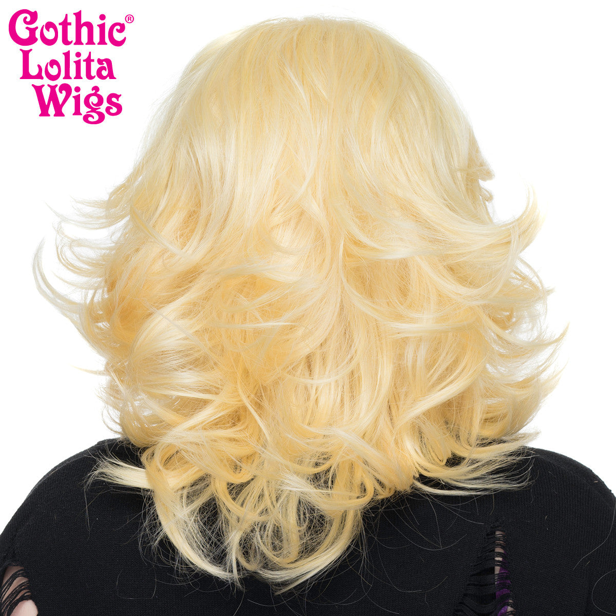"Lace Front 14"" Shag - Light Blonde Mix - 00796"