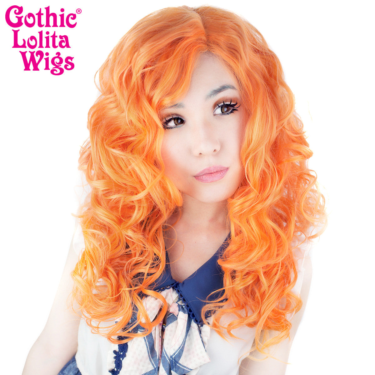 "Lace Front 22"" Cosplay - Pumpkin Mix -00257"