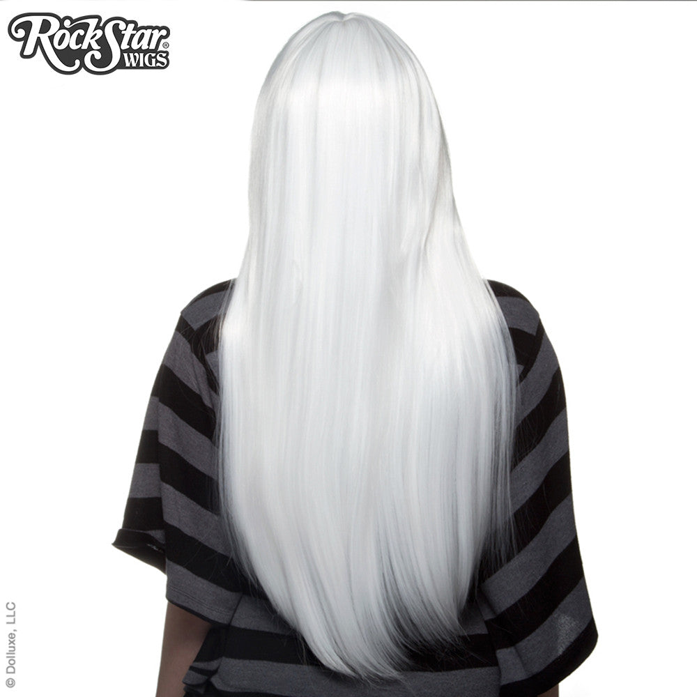 "Cosplay Wigs USA™ <br> Straight 70cm/28"" - White -00344"