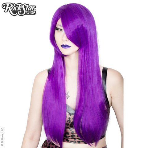 "Cosplay Wigs USA™ <br> Straight 70cm/28"" - Purple Grape -00377"
