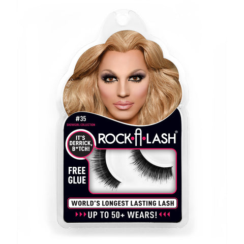 Rock-A-Lash ® <br> #35 - It's Derrick B*tch™ - 1 Pair